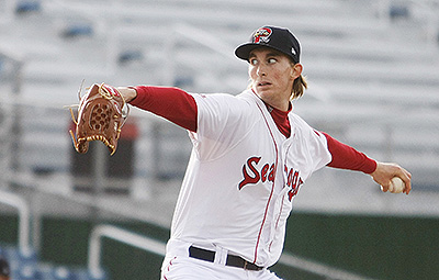 Henry Owens didn't allow a hit until two outs in the eighth inning Thursday night. No Sea Dog ever has pitched a nine-inning no-hitter.