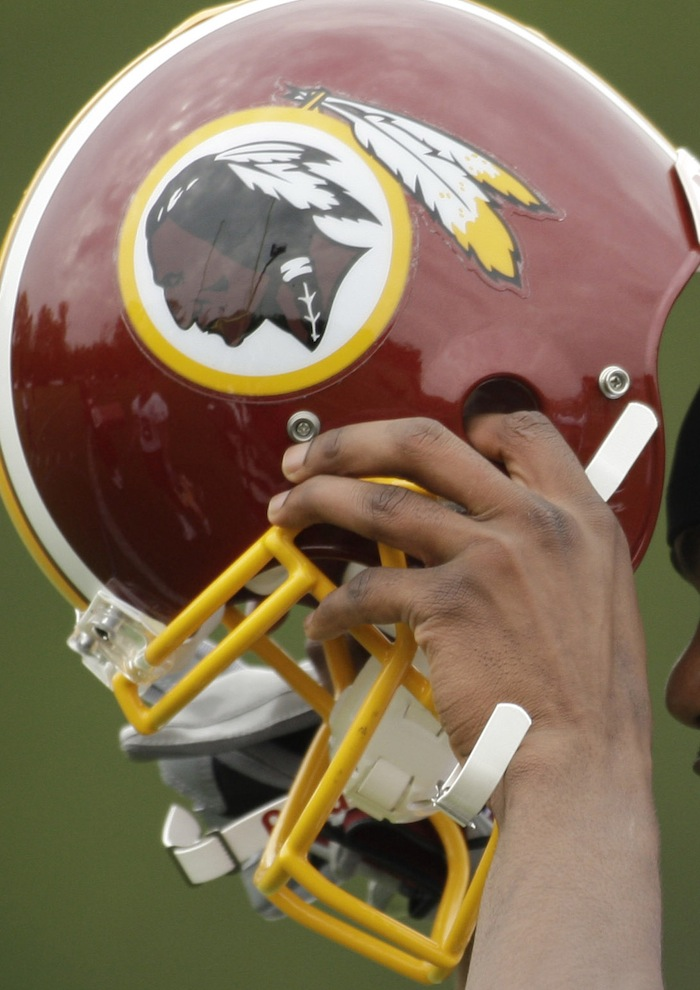 The Washington Redskins' owner has said his team's name is 'not an issue,' despite critics' claims that it's insensitive to Native Americans.