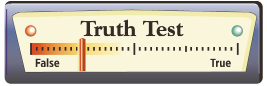 A Test of the Truth