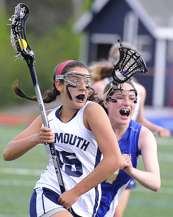 Girls' Lacrosse: Grace O'Donnell from Yarmouth High School.
