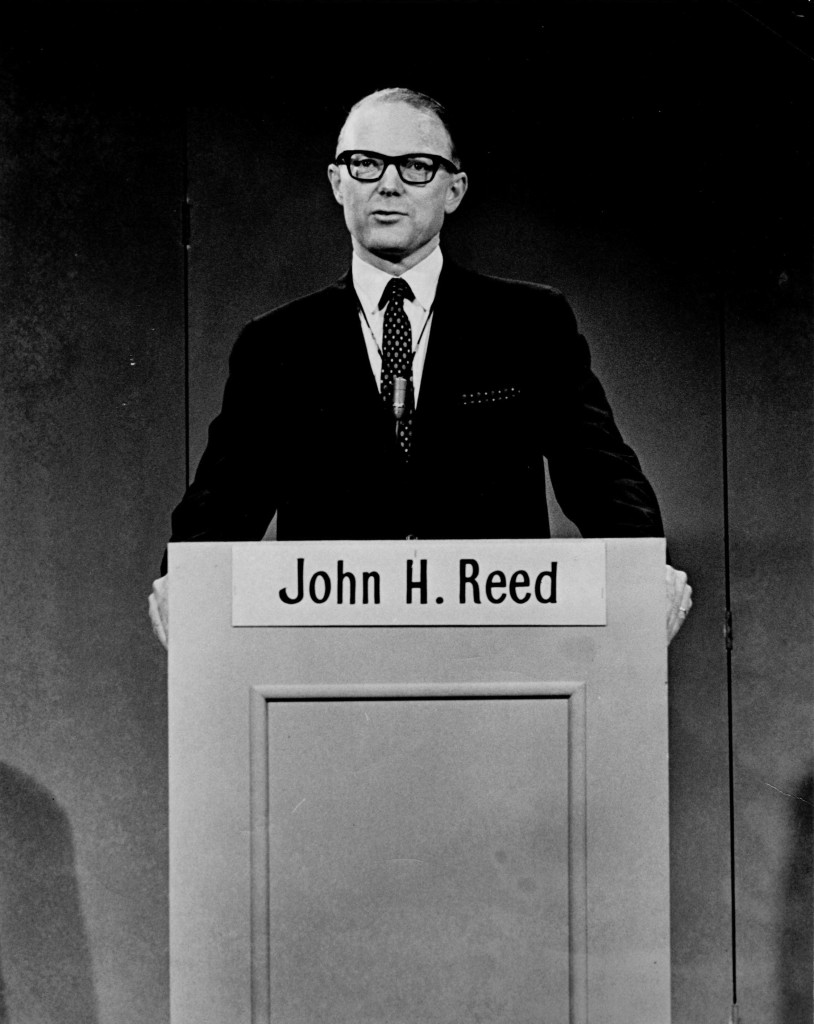 Governor John H. Reed. Press Herald file photo published in 1966
