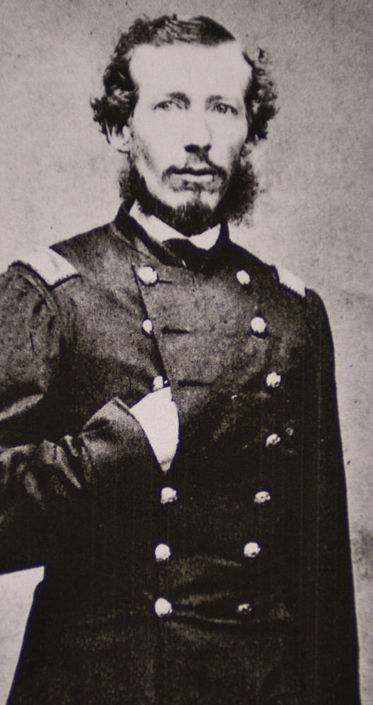 Col. Sabine Emery led the 9th Maine in the charge on Fort Wagner in South Carolina.