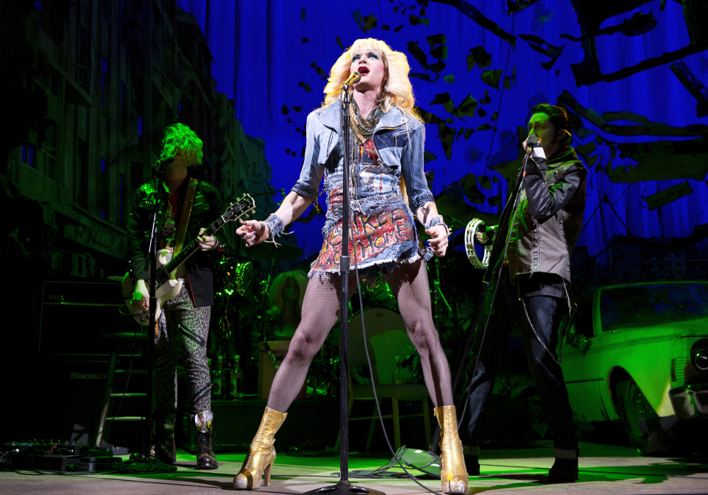 "The Associated Press Neil Patrick Harris, in a scene from ""Hedwig and the Angry Inch,"" received the Tony for best actor in a musical."