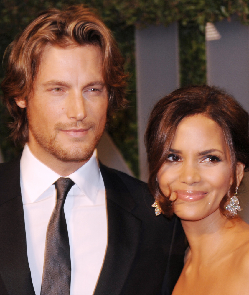 Gabriel Aubry and Halle Berry in 2009. The Associated Press