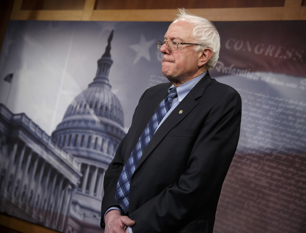 """Senate Veterans Affairs Committee Chairman Sen. Bernie Sanders, I-Vt., on Wednesday defended a bill to help veterans get medical care. """"The cost of war continues until the last veteran receives the care and the benefits that he or she is entitled to and has earned on the battlefield,"""" he reminded colleagues."""