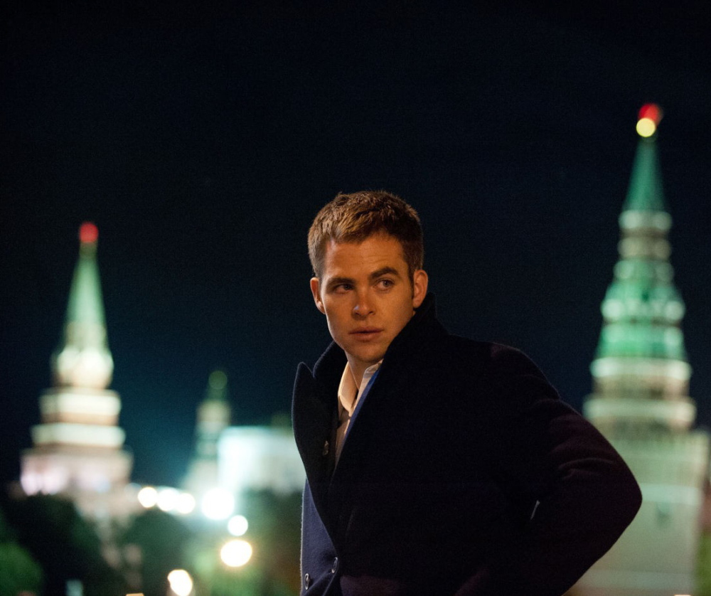 "Chris Pine in ""Jack Ryan: Shadow Recruit."""
