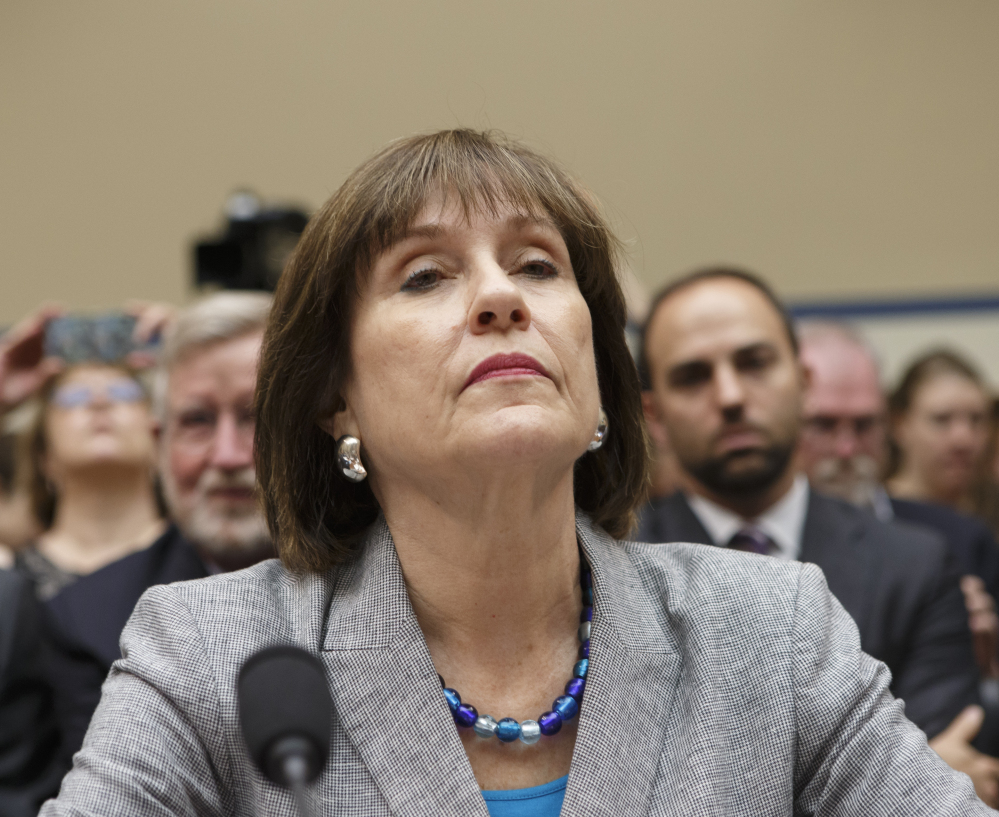 Internal Revenue Service official Lois Lerner appears on Capitol Hill in Washington on May 22, 2013.