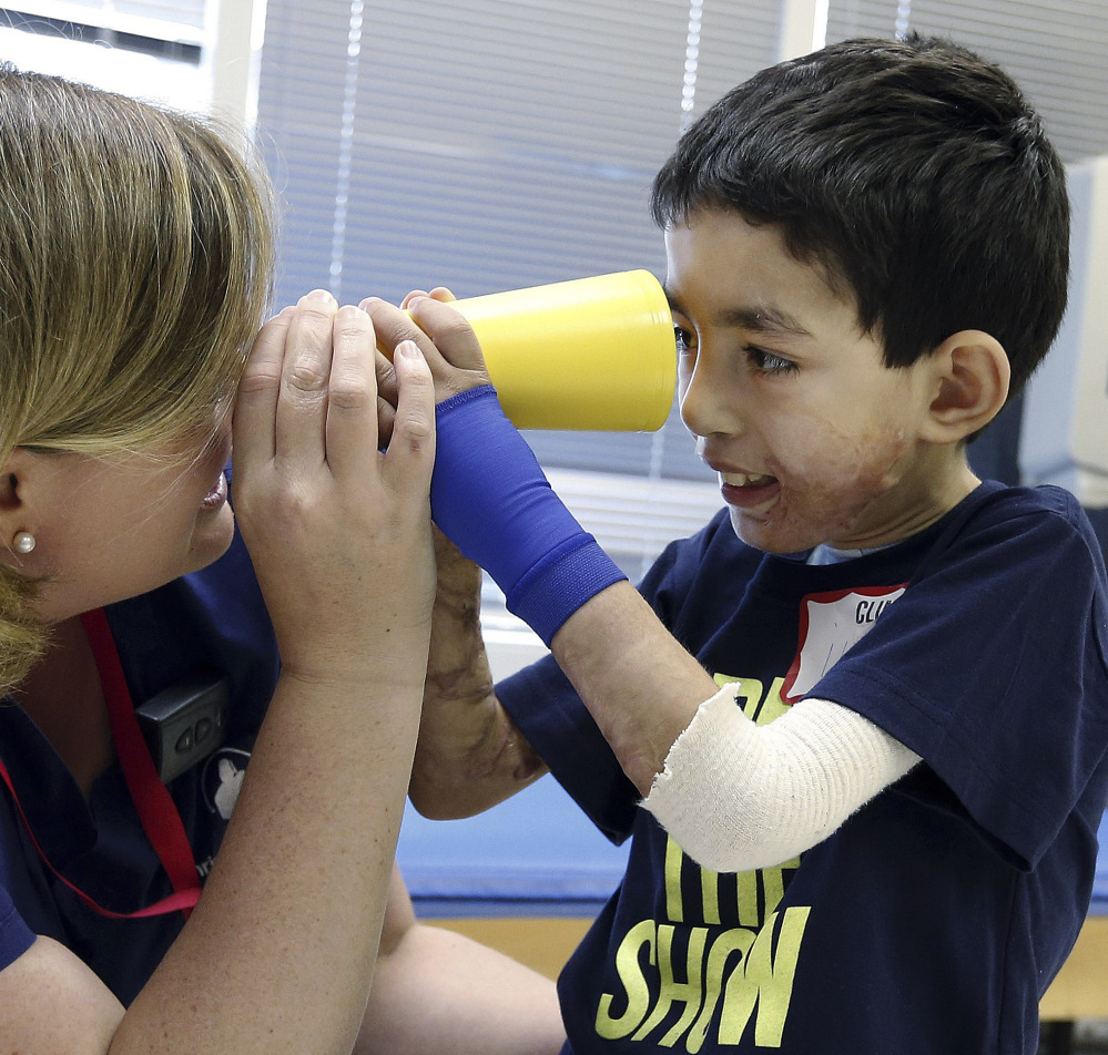Ihor Lakatosh was about 8 or 9 and weighed less than 30 pounds when he was flown to Boston in 2012 for his first surgery, thanks to Doctors Collaborating to Help Children.