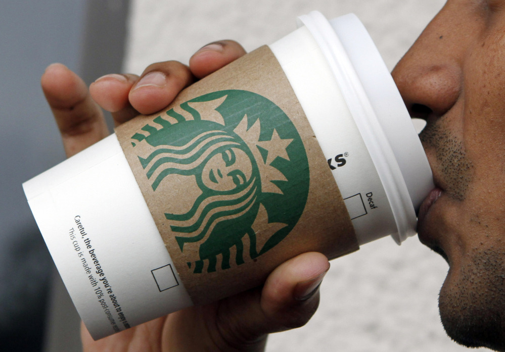 Starbucks isn't contributing any upfront scholarship money to an online college degree program it introduced Monday.