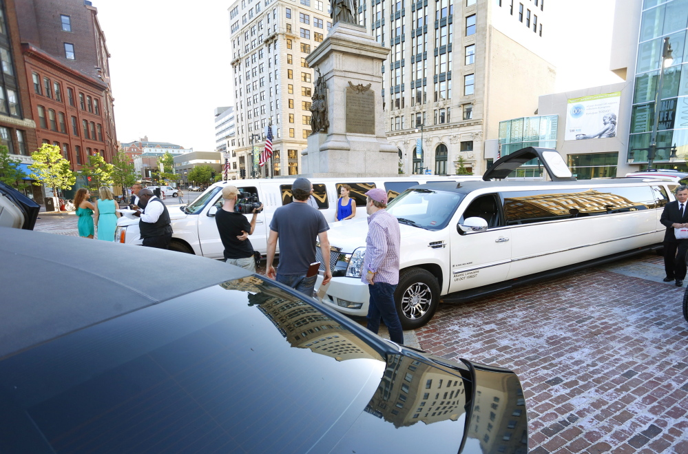 "A reality TV show called ""Passing the Buck"" is filmed in Monument Square on Thursday."