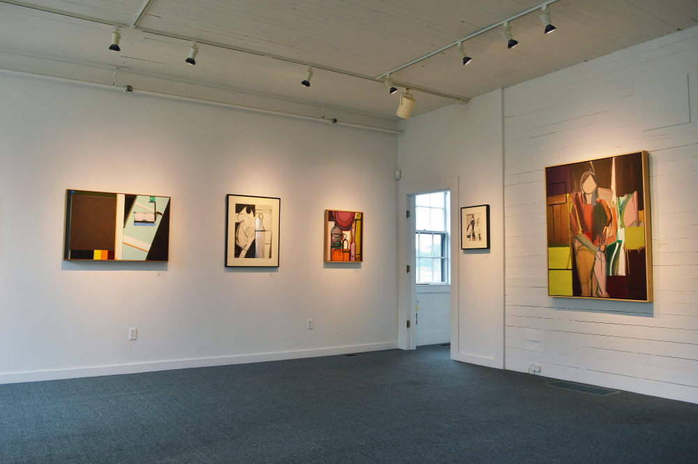 """""""Paintings and Drawings"""" features paintings spanning more than 40 years of George Lloyd's career."""