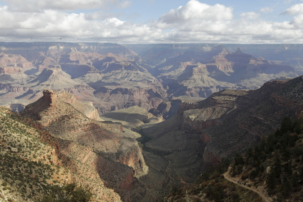 This photo shows Grand Canyon National Park, as viewd from the South Rim. The park has already taken steps to ban drones.