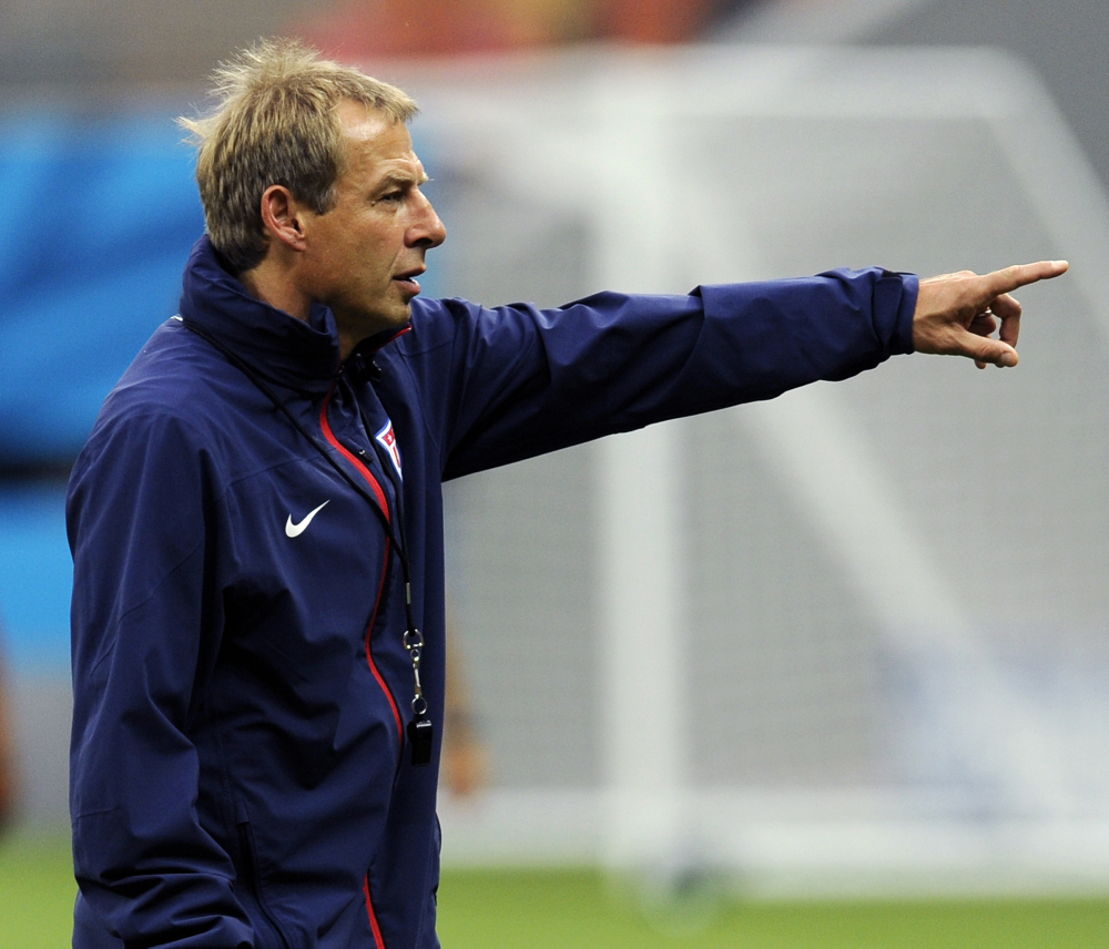 Coach Jurgen Klinsmann and his United States team have a chance to advance to the knockout stage when they face Portugal on Sunday in Manaus, Brazil.