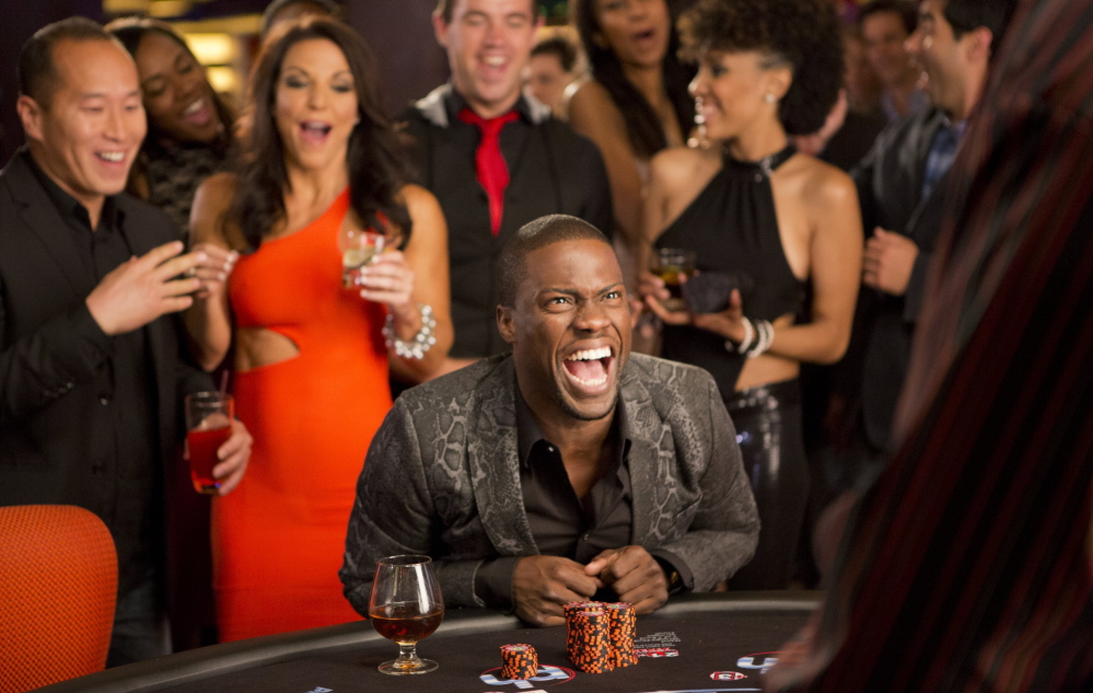 Kevin Hart is letting it ride on a sequel to the 2012 movie that so far is the biggest draw of the young summer.