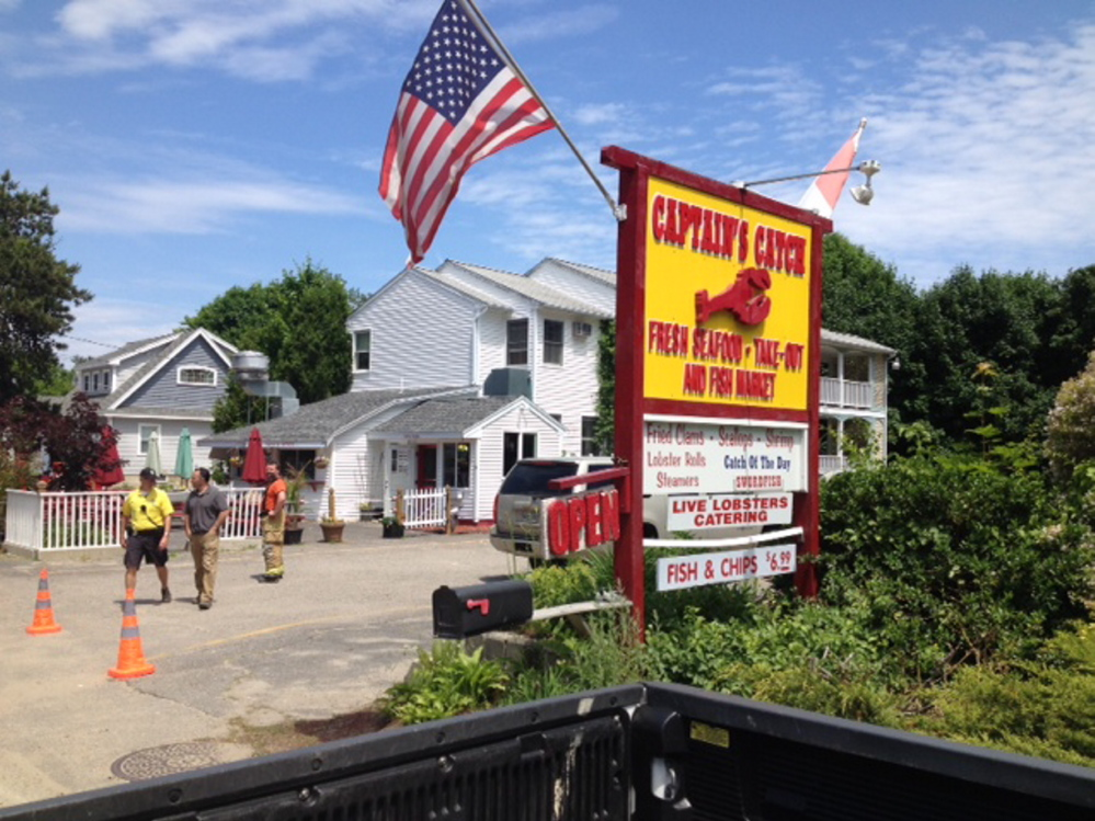 A propane explosion at Captain's Catch in Ogunquit is being investigated by State Fire officials.