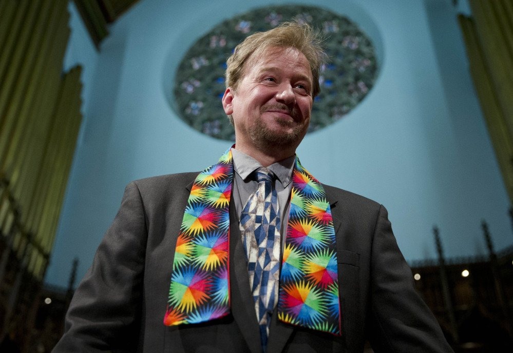 United Methodist pastor Frank Schaefer, who officiated at his son's same-sex wedding, can return to the pulpit.