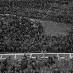 A strip of standardized, federally built homes, stand amid the forests along Peter Dana Point Road on the Indian Township reservation, north of Princeton. The Passamaquoddy have hunted, fished and lived in eastern Maine for at least 13,000 years, but much has changed over the past two centuries.