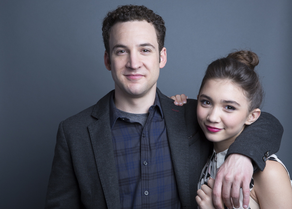 "Ben Savage and Rowan Blanchard star in ""Girl Meets World,"" which premiered on Friday on the Disney Channel."