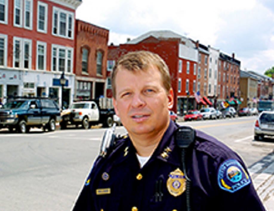 Hallowell Police Chief Eric Nason