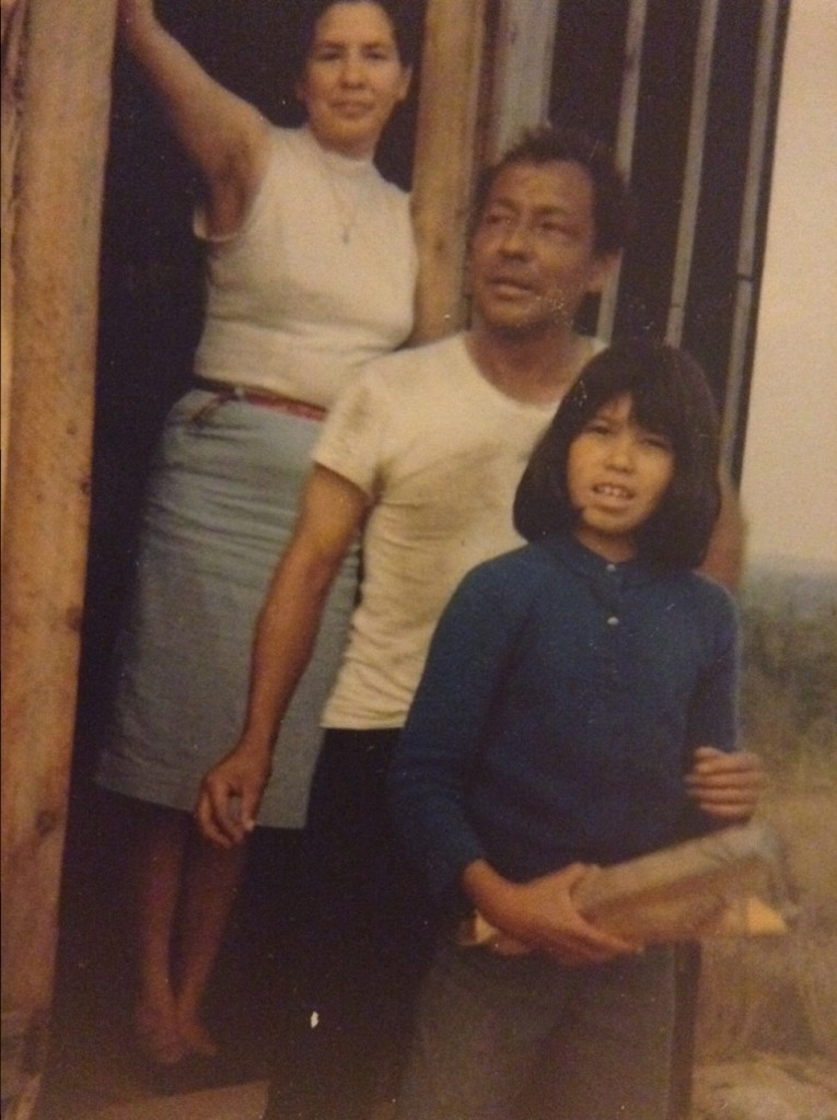 Christopher Altvater, his wife, Rita and daughter, Lisa around July or August 1965