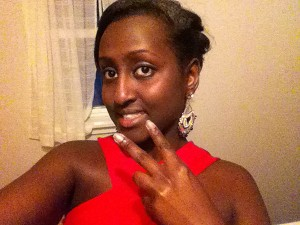 Chanelle Irakoze of Deering High School. Selfie