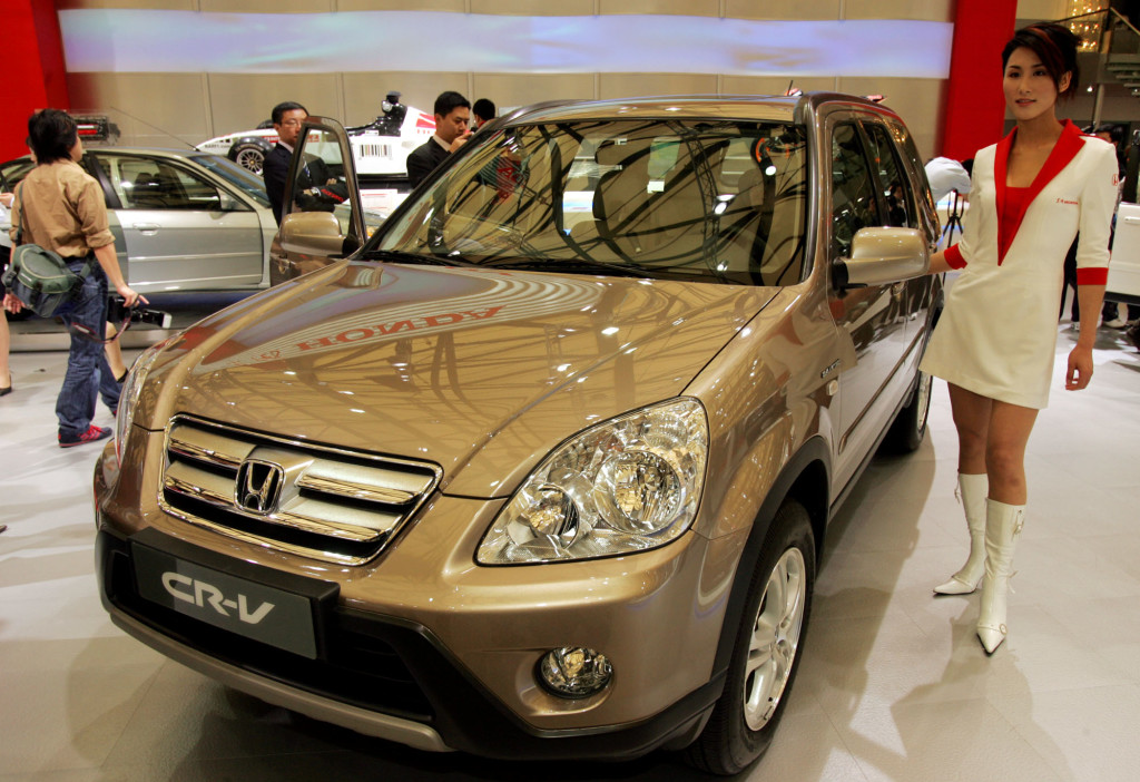 The 2005 Honda CR-V is one of the models being recalled for defective airbags.