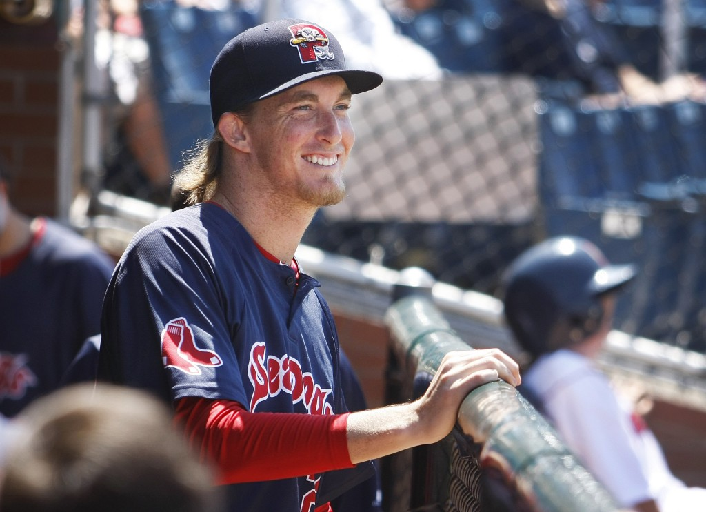 Portland Sea Dogs pitcher Henry Owens is the first 14-game winner in team history.  Jill Brady/Staff Photographer)