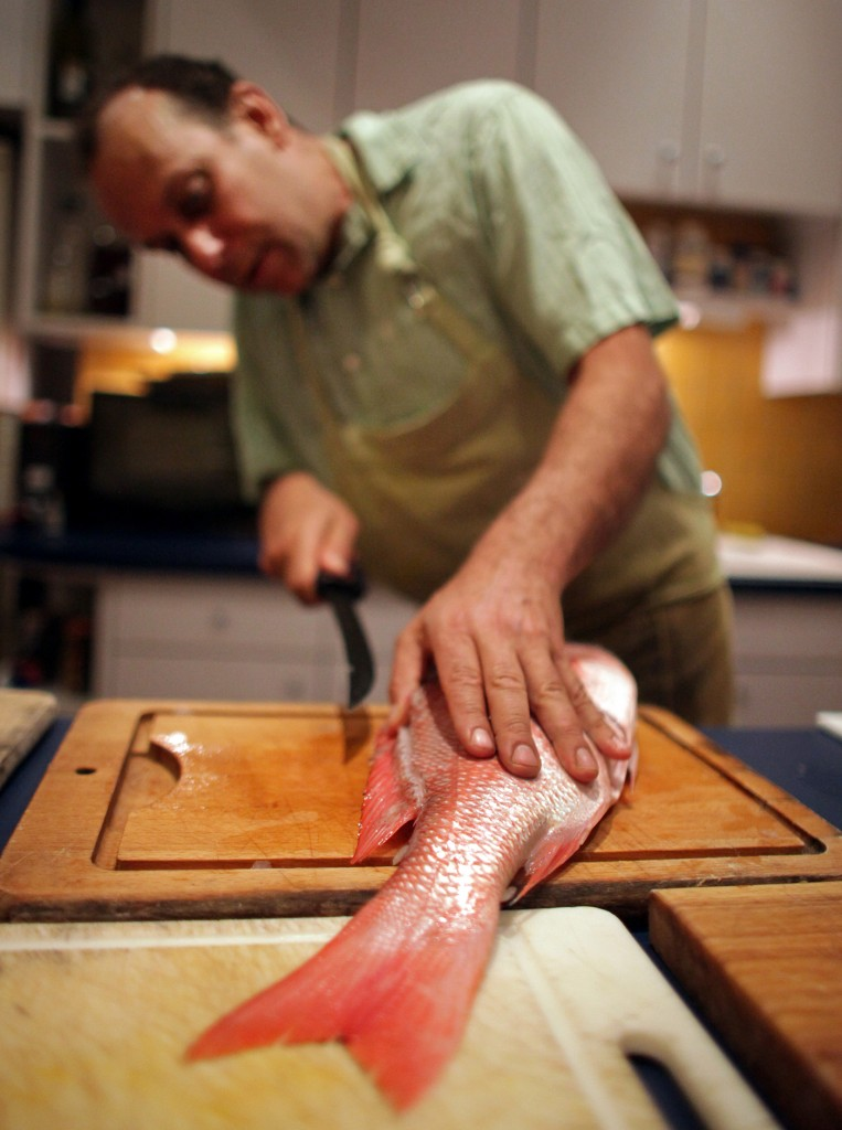 Author Paul Greenberg wants Americans to use more whole fish.