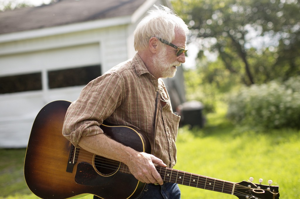 Mallett worked with Maine Farmland Trust on the CD, for which he recorded a few old songs and wrote several new ones.