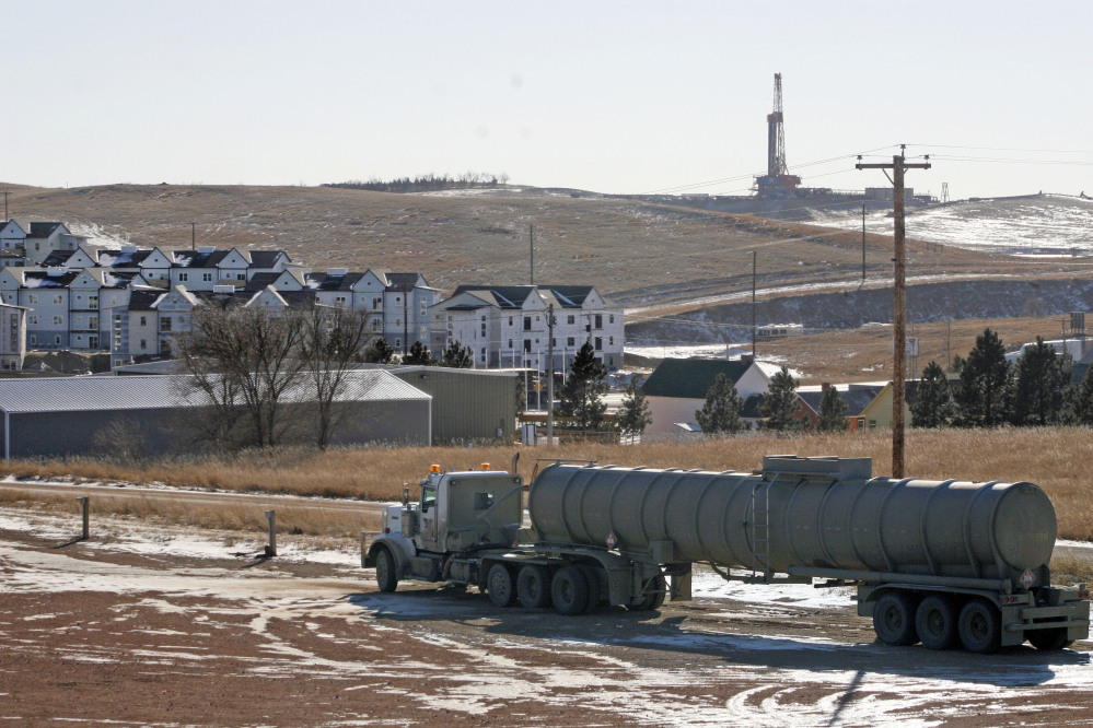 The energy boom means boom times in North Dakota, where the benefits include 100,000 new jobs and a hot housing market in places such as Watford City in the west-central part of the state.