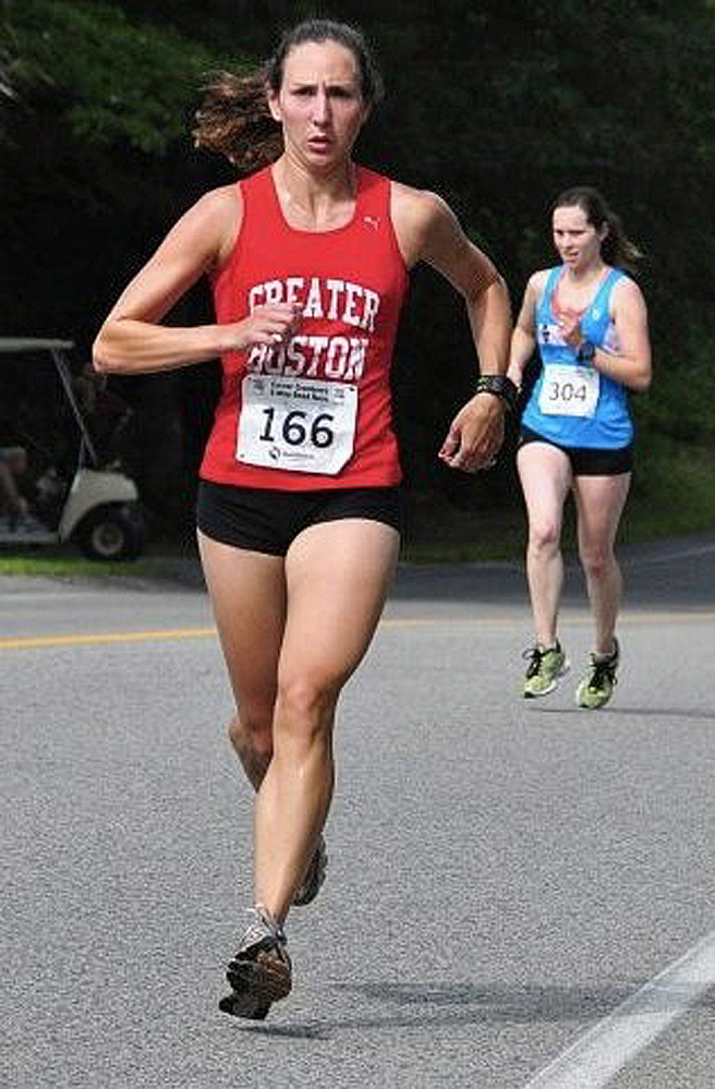 Gretchen Speed, a nurse practitioner, has run competitively for years.