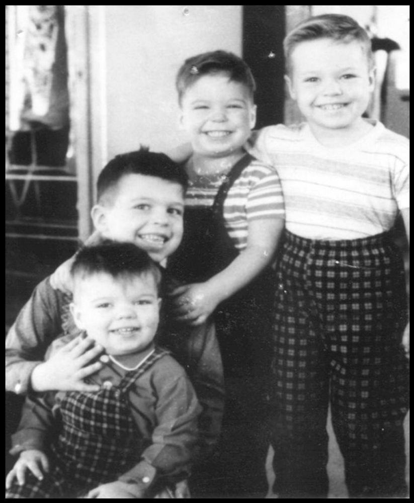 The Michaud siblings. Terry, Jim, Jerry and Mike.