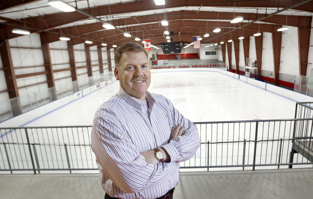 Ron Cain, inside the MHG Ice Centre in Saco, where the Portland Pirates train, faces a challenge: Get this franchise to rebound from last season, when it had the league's worst record and lowest attendance while playing all of its home games in Lewiston.
