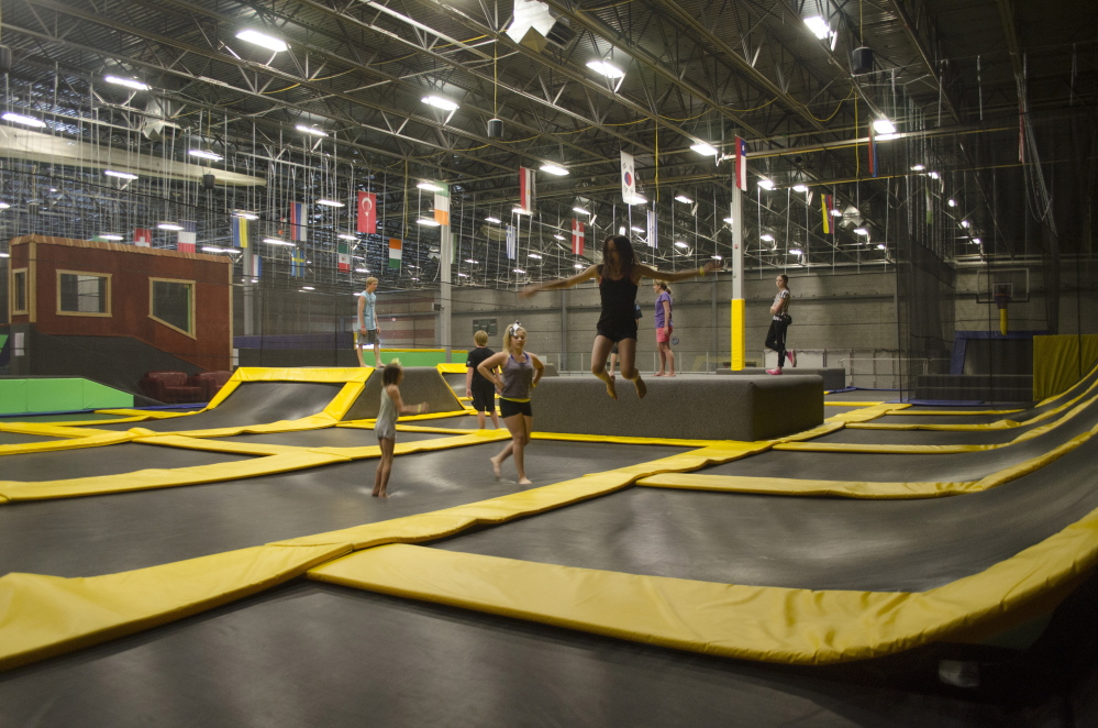 It's all about bouncing at this Get Air Sports site in an unnamed location. The one proposed for Portland would be the third indoor trampoline facility in Maine.