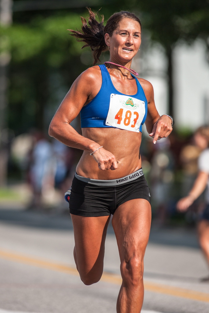 Mary Pardi of Falmouth just missed qualifying for the 2012 Olympic marathon trials, but even at age 44 she hasn't given up hope of making it to the 2016 trials in Los Angeles.