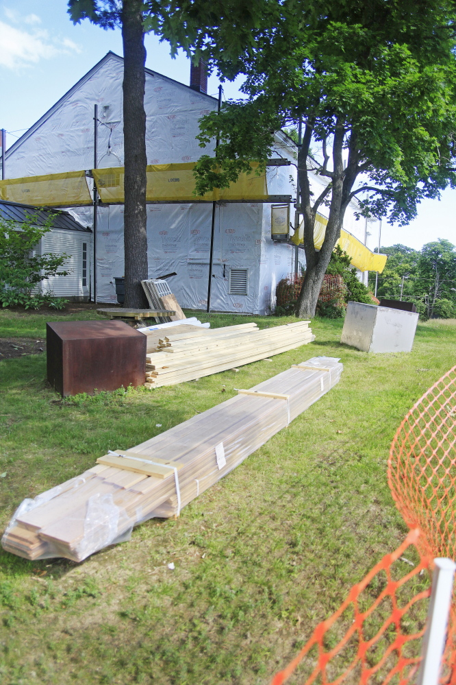 Renovations to the current art gallery, a historic building at USM in Gorham, are upsetting preservationists.
