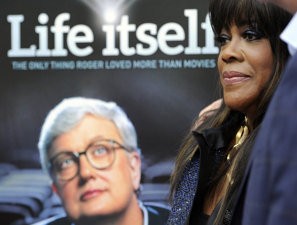 "Chaz Ebert, widow of movie critic Roger Ebert, at the premiere of the documentary ""Life Itself"" in Los Angeles. The Associated Press"