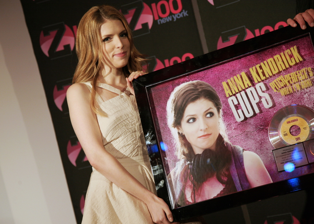 "Actress Anna Kendrick of Portland starred in the 2012 release ""Pitch Perfect"" and will appear in ""Pitch Perfect 2."""