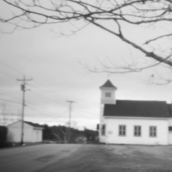 St. Ann Church, in the village of Peter Dana Point in Indian Township, stands under a gray sky recently. Repeated attempts to enact a tribal constitution – a document that would have provided a legal foundation for the Passamaquoddy – failed.