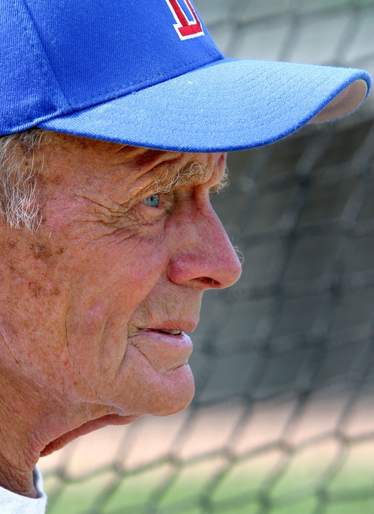 John Winkin coached the University of Maine baseball team to six appearances in the College World Series. He passed away Saturday, four days short of his 95th birthday.