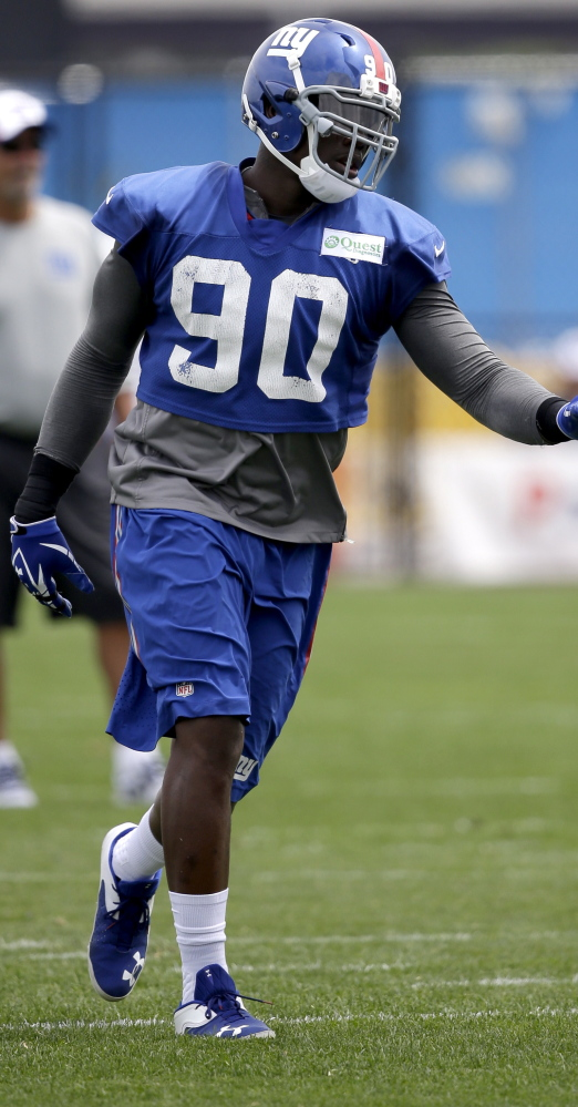 Jason Pierre-Paul again is acting like the defensive end who, when healthy, is among the NFL's best at torturing quarterbacks.