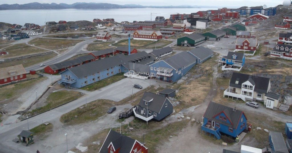 Nuuk is the capital of Greenland, which is slightly more than three times the size of Texas but has fewer residents than Portland. The island is poised to begin the construction of three airports, two marine terminals and an iron ore mine. Photo by John Henshaw