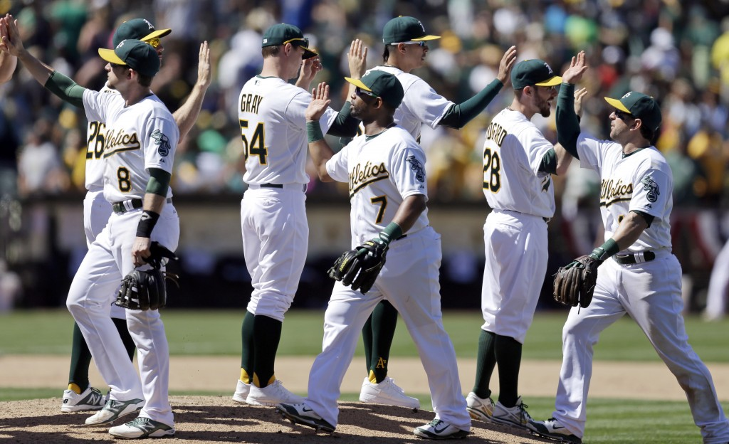 The Oakland A's, with the major leagues' best record at the All-Star break, are going for their first World Series championship in 25 years.