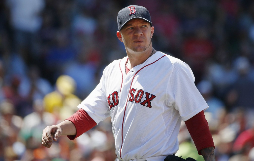 With the Red Sox out of contention at the All-Star break, starting pitcher Jake Peavy could be on his way out of Boston.