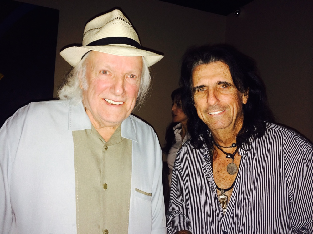 "Dick Wagner, left, worked with Alice Cooper, right, as well as Lou Reed, Kiss and Aerosmith. Wagner co-wrote many of Cooper's hits, including ""Only Women Bleed"" and ""You and Me."""