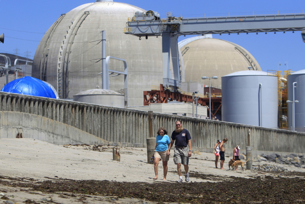 The San Onofre nuclear power plant in San Clemente, Calif.  The Associated Press