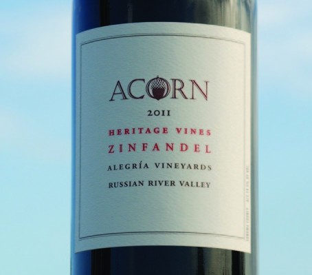 Acorn Heritage Vines Zinfandel 2011 is a happy jumble of grapes.