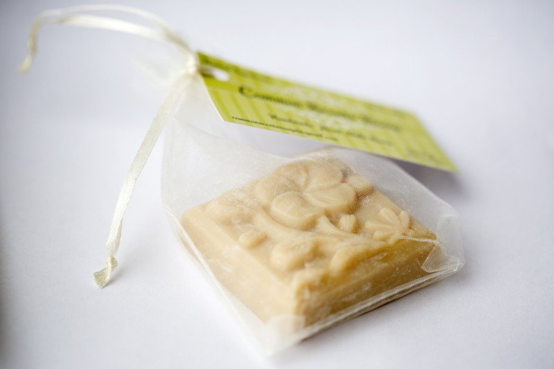 Goat's milk soap, made by Patty Young of Common Scents Soap