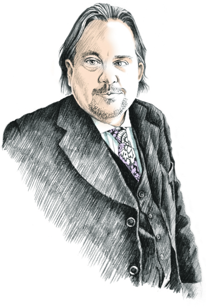 Andrew Ian Dodge Staff Illustration | Michael Fisher