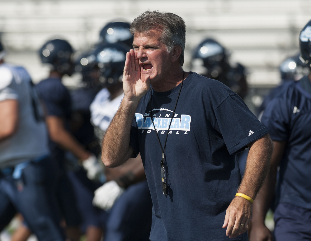 Jack Cosgrove, the University of Maine football coach, says that linebackers Cabrinni Goncalves and Mulumba Tshimanga had to earn his trust last season, and well before the playoffs rolled around, that trust was earned.
